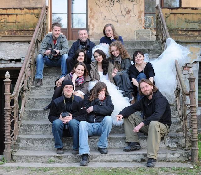 la nostra grupa bez Michasia, który to fotę ową popełnił