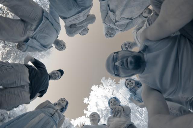za pomocą Kurki postanowiliśmy se cyknąć kolejną fotę grupową...