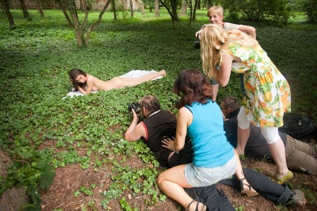 szkolimy także w zakresie współpracy w grupie, fot. Marcin Kubisa