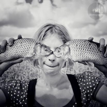 Gnato jest autorem kapitalnego rybiego portretu, który zyskał już nie lada sławę w sieci. Fotografia ta rozłożyła mnie prostotą formy i raczej też obroni się bez mojego komentarza.