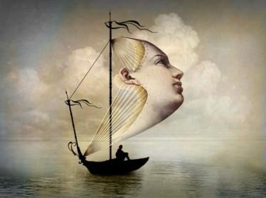 Catrin Welz-Stein to mistrzyni kolażu. Ubóstwiam jej surrealizm.