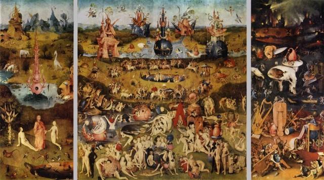Golasy u Hieronima Bosha, moim zdaniem ojca surrealistów, który swoich naśladowców wyprzedził o prawie pół tysiąca lat