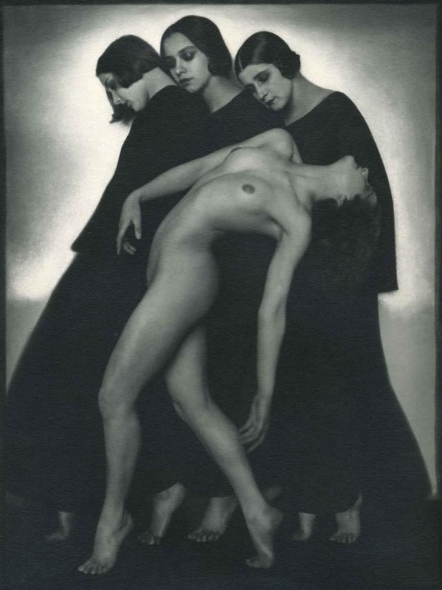"""Rudolf Koppitz """"Studium ruchu"""" Wien 1935, odbitka srebrowożelatynowa"""