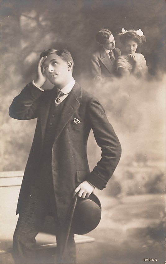 Man Daydreaming about Love, 1910