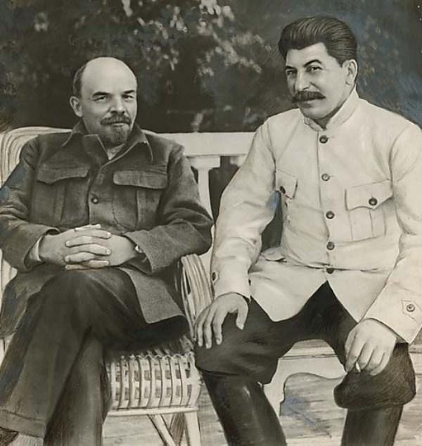 Stalin i Lenin