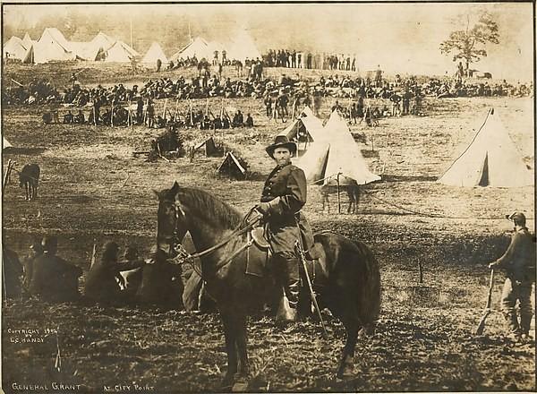 General Ulysses at City Point,autor Levin Corbin Handy, datowany na 1902