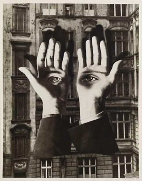 """Lonely Metropolitan"", Herbert Bayer, datowane na 1932"