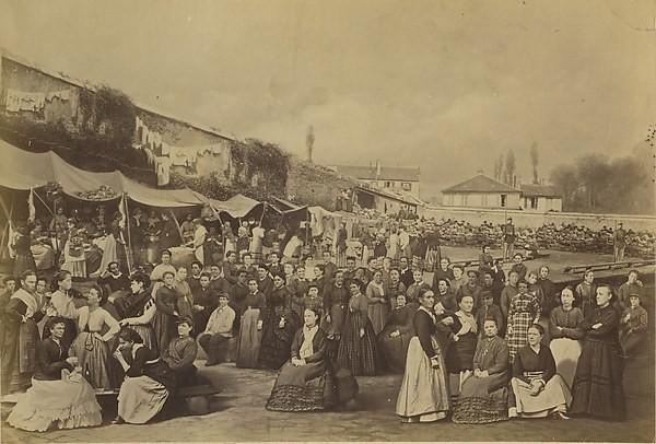 Prison des Chantiers, Ernest Appert, 1871