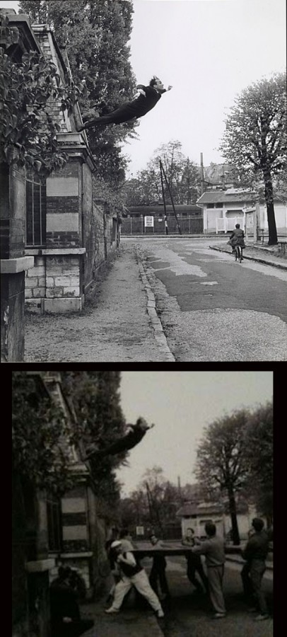 Yves Klein, Skok w pustkę, 1960