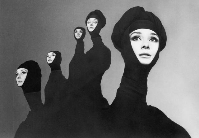 Audrey Hepburn, autor Richard Avedon, 1967